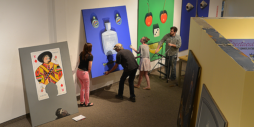 Mion Museum Art Installation